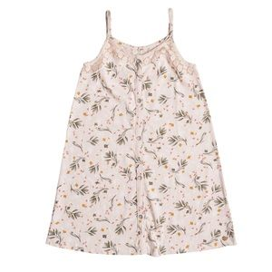 Roxy Girl See A Wish Pale Pink Dress 14 XL NWT